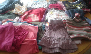 Girls clothing lot size 6 to 8