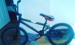 Black Hardtail BMX