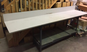Work Table, approx 8 feet long