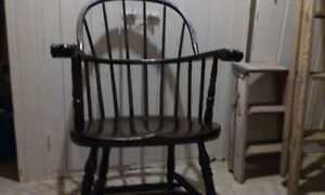 Refinished captains chair