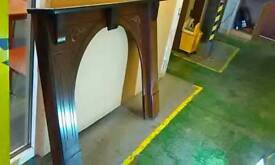 Victorian style wood fire place 54 inches in width