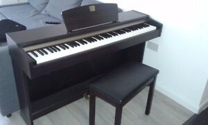 Yamaha Clavinova CLP-115 Piano Music Musical Instrument 88