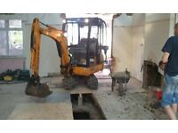 **SUPERIOR MINI DIGGERS **DIGGER AND DRIVER HIRE FROM £195.OO PER DAY**