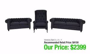 PROVINCIAL STYLE SOFAS - CLASSIC STYLE! Richmond Yarra Area Preview