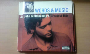 John Mellencamp CDs/DVD Set for Sale