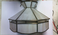 Stained Glass Tiffany Light Fixture