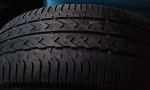 1 - 195/60/15 summer tire and rim for sale