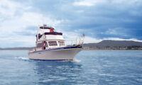 Californian 34 Long Range Cruiser Fast Trawler - Low Hours!