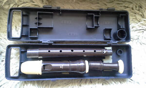 alto professional recorder with case