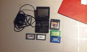 Gameboy Advance SP + Jeux