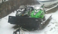 2011 Arctic Cat 800 with 200 hours on it