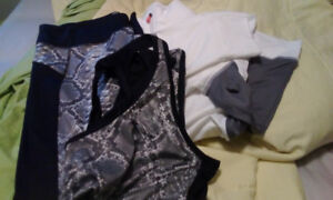 Ladies exercise  jacket,pants and top