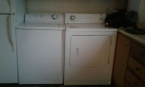Washer and Dryer - Need sold ASAP