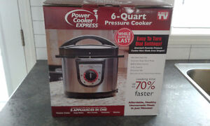 New electric pressure cooker