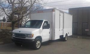 2000 Ford E-450 CUBE VAN