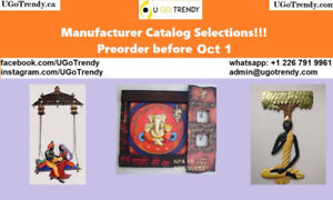 Indian Metal Art - Preorder Before Oct 1 - Discounted Prices