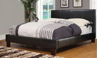 BACK TO SCHOOL SPECIAL! DOUBLE PLATFORM BED WITH COMFY MATTRESS