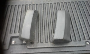 NEW TAKE OFF BUMPER END CAPS/ FLARE EXT 2008-2010 FORD F550 F450 Peterborough Peterborough Area image 1
