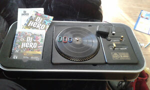 DJ HERO turntable with stand bundle