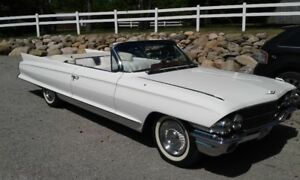 BETTER THAN NEW 62 CADDY DEVILLE CONVERTIBLE