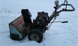 10 horsepower craftsman snowblower