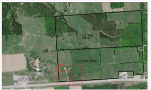 191 Acre Farm with 10,000 Sqft Barn, plans for Custom Home!