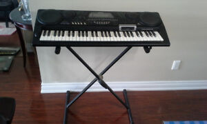 CASIO MUSICAL INFORMATION SYSTEM CTK - 731 PIANO & KEYBOARD
