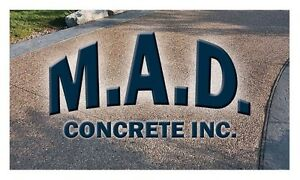 M.A.D. Concrete Inc. - Summer of 2016