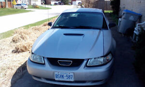2000 Ford Mustang grey Coupe (2 door)