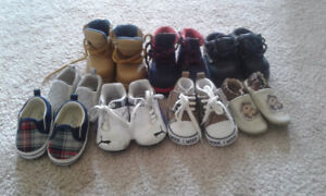 Size 1 and 2 baby shoes