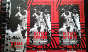 Raptors Entire 2018/19 Season Tickets Pack - Has All Home Games