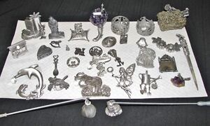 Pewter Figurine Collection