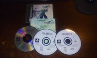 Final Fantasy 7 et 9 PS1 Blacklabel