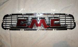 1955 1956 1957 GMC hood emblem insert