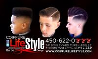 Coupe de cheveux pour homme pour le mois de décembre