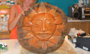 Morning Sun Wood Carving
