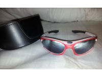 TIMBERLAND SUNGLASSES - RED - USED IN EXCELLENT CONDITION