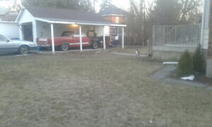 Powered Garage for rent