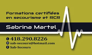 Cours RCR et secourisme Saguenay Saguenay-Lac-Saint-Jean image 3