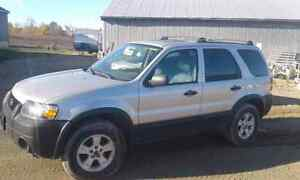 2006 ford escape for parts or repair