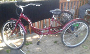 Schwinn Meridian Tricycle.  NEW condition w/basket for shopping.
