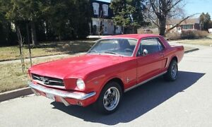 1965 Mustang project factory A code 4spd coupe