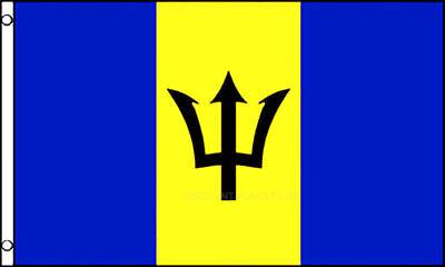 3'x5' Barbados Flag Outdoor Indoor Banner Lesser Antilles Island Caribbean 3x5