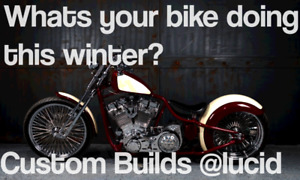 Whats your bike doing this winter?
