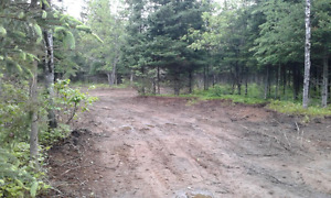 3 Surveyed lots and private road