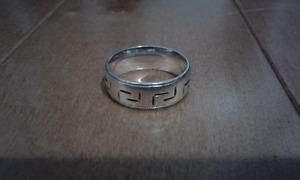 Bague en argent {Sterling} Silver Ring. Anillo plata esterlina