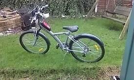 Ladies,girls hybrid bike,B twin ,5 aluminium
