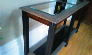 Beautifully refinished console/sofa table $135