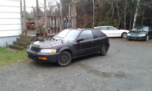 1996 Honda Civic Hatchback for sale or trade
