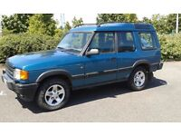 1998 Land Rover Discovery 300Tdi XS 3dr Manual in Cobar Blue
